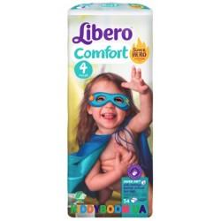 Подгузники Libero Comfort 4 maxi (7-11 кг) 54 шт.
