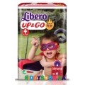 Подгузники-трусики Libero Up&Go Hero Collection 4 (7-11 кг) 46 шт.