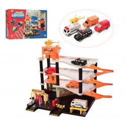 Паркинг гараж Мега Парковка Limo toy 0846 (4 этажа)