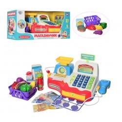 Игрушечный кассовый аппарат Магазинчик Limo toy 7162