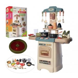 Детская игровая кухня с водой 889-195 Limo toy свет, звук, посуда, 29 предметов