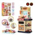 Детская кухня Limo toy 922-116 со светом, звуком и паром (46 предметов)