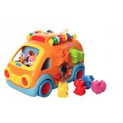 Развивающая интерактивная игрушка сортер Limo toy 988 Веселая компания
