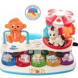 Развивающая игрушка Пианино Парк развлечений Limo toy FT 0001 (свет, звук)
