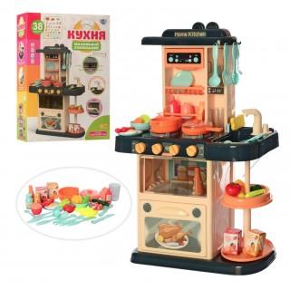Детская кухня Limo toy 889-181 с водой (свет, звук, посуда) 38 предмета