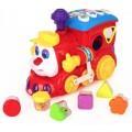 Развивающая музыкальная игрушка сортер Limo toy 556 Паровозик-Умник