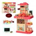 Детская кухня с водой Limo toy 889-180 (свет, звук) 43 предмета