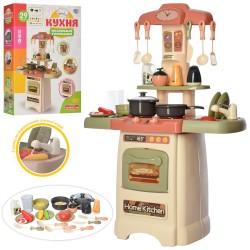 Детская игровая кухня с водой 889-196 Limo toy свет, звук, посуда, 29 предметов