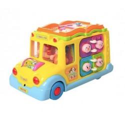 Развивающая игрушка Limo toy 796 Школьный автобус