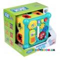 Интерактивная развивающая игрушка сортер Сказочный Куб Limo toy FT 0003 укр.мова