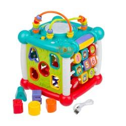 Интерактивная развивающая игрушка сортер  Сказочный Куб Limo toy FT 0004