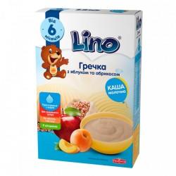 Каша молочная Lino Гречневая с яблоком и абрикосом 190 г