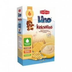 Каша молочная Lino Keksolino Пшеничная с печеньем 200 г