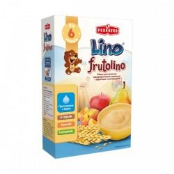Каша молочная Lino Frutolino Пшеничная с фруктами 200 г