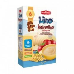 Каша молочная Lino Keksolino Пшеничная с печеньем и яблоком 200 г
