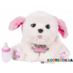 Интерактивная игрушка Ласковый щенок белый Little Live Pets 28277
