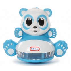 Развивающая игрушка-неваляшка Догони огонек Панда (свет, звук, датчик) Little Tikes 641442