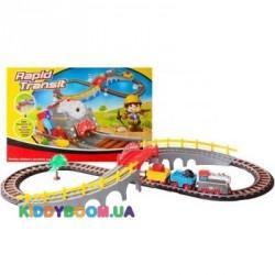 Железная дорога с поездом LiXin 9902