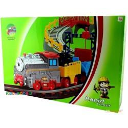 Железная дорога с поездом LiXin 9903