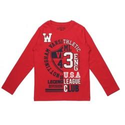 Реглан для мальчика Losan 823-1625051 Красный
