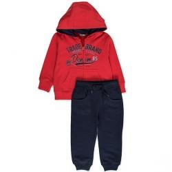 Костюм для мальчика Pojo Losan 825-8659051 Красный