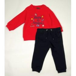 Костюм для мальчика Losan 827-8651051 Красный