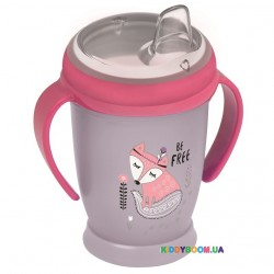 Кружка с ручками Lovi Indian Summer Junior розовая (250 мл) 35/346girl