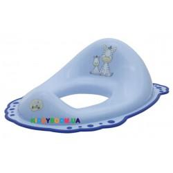 Сиденье на унитаз с  резинками Maltex Baby «Зебра» 6463 (цвета в асс.)