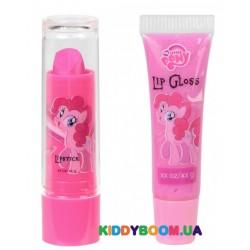 Набор блесков для губ Markwins My Little Pony Розовый пирог 9710610
