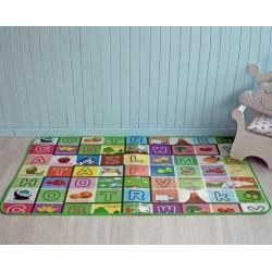 Детский развивающий термоковрик Животные-буквы 150 х 180 х 0.5 см Mat4Baby 210