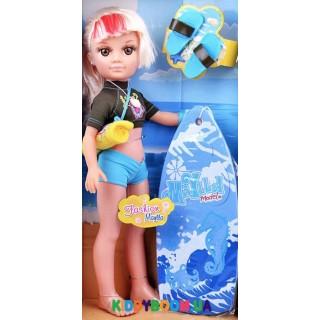 Кукла Maylla с аксессуарами для серфинга 43 см 88109