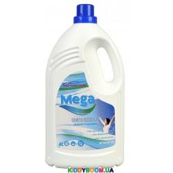 Гель для стирки (жидкий порошок) для цветного и белого белья Mega Universal GCG 4 л.