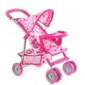 Прогулочная коляска для кукол Melogo 9304BWT/025