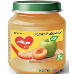 Фруктовое пюре Milupa яблоко, абрикос (125 г)
