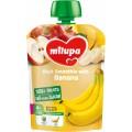 Фруктовое пюре Milupa Яблоко и банан 80 г (Пауч)