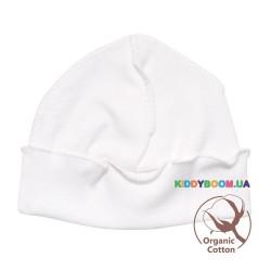 Шапочка Organic Cotton р-р 41-43. 0-3 мес. молочный Minikin 1830903