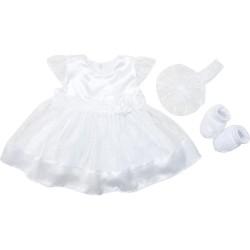 Платье с пинетками и повязкой р.62-68 Minikin 530263