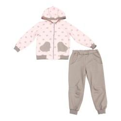 Спортивный костюм для девочки р.98-116 Minikin 177107