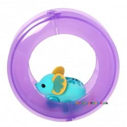 Интерактивная мышка «Счастливый Лулу» Little Live Pets в колесе Moose 28195