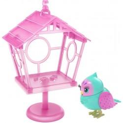 Интерактивная игрушка Говорящая птичка Пиппа Пипс со скворечником Moose 26103