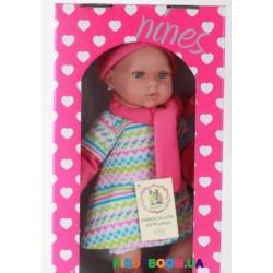 Кукла (45 см) NINES в шапке и шарфе Испания, в коробке 1072G
