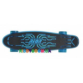 Скейтборд Neon Hype Синий N100787