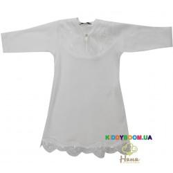Рубашка крестильная (интерлок) Happiest day р.56 Няня 19262