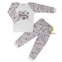 Пижама Пудровый цветочек 19907 Няня р.92-116