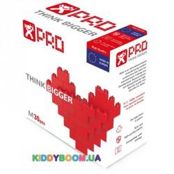 Конструктор Nobi PRO 1022.30.001 (красный), 30 деталей