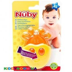 Игрушка-прорезыватель Жираф с термогелем Nuby 647grf
