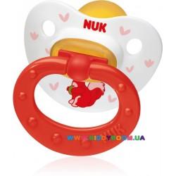 Пустышка ортодонтическая успокаивающая Happy Kids 0-6 мес NUK 10725596