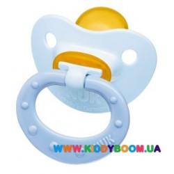 Пустышка ортодонтическая Baby Blue 0-6 мес NUK 10725760
