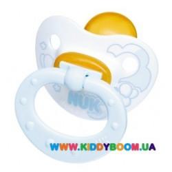 Пустышка ортодонтическая Baby Blue 6-18 мес NUK 10733925