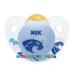 Пустышка ортодонтическая Trendline Adore 0-6 мес NUK 10725982